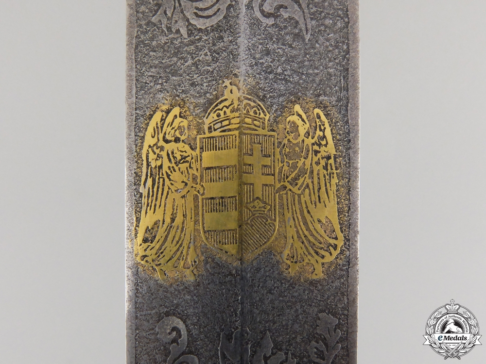 A 1930's Hungarian Pilot's Parade Dress Dagger