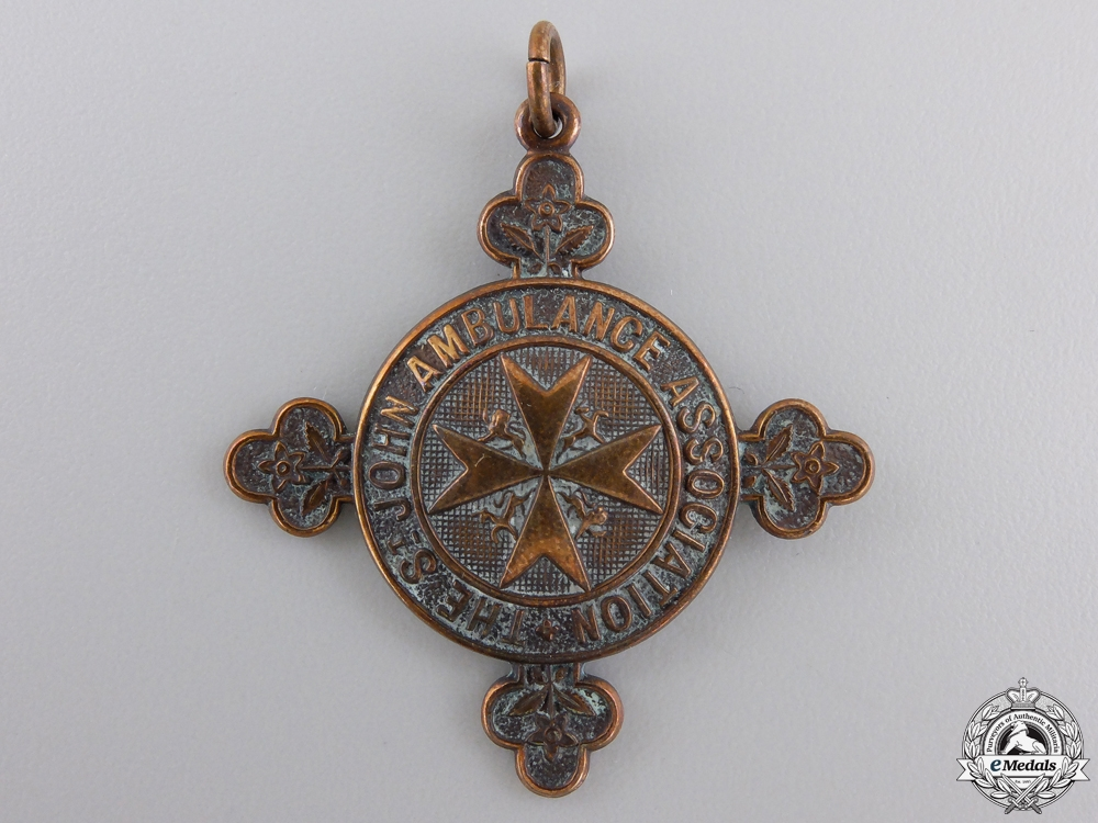 An Order of St. John Pair to Elsie D. Burn SJABO