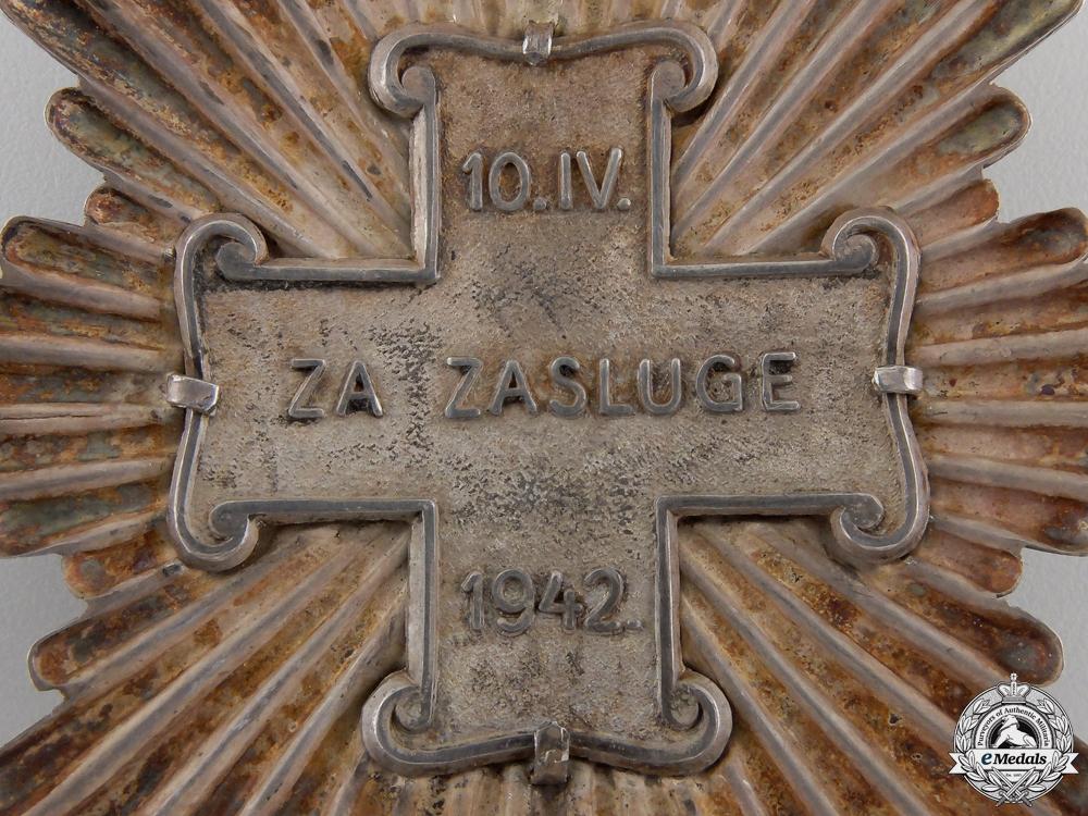 Croatia. A Croatian Order of Merit; Grand Cross