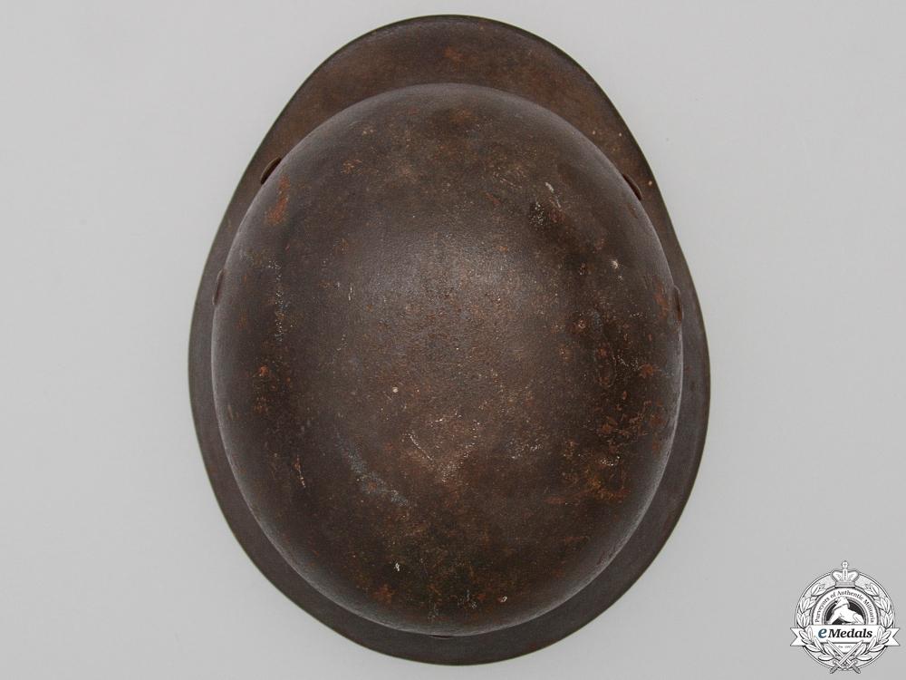 A Second War M40 Heer Single Decal Helmet