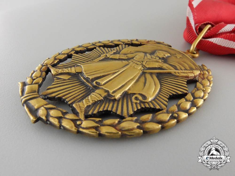 A Yugoslavian Order of People's Hero; First Version
