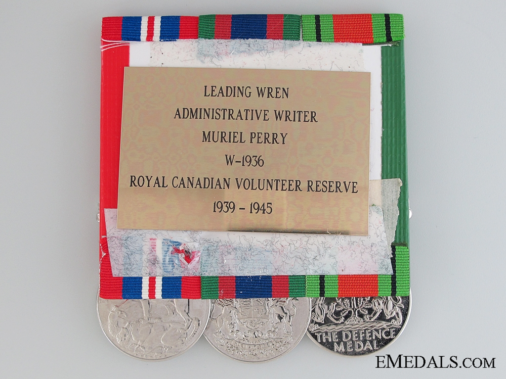 WWII Canadian Group to Administrative Writer