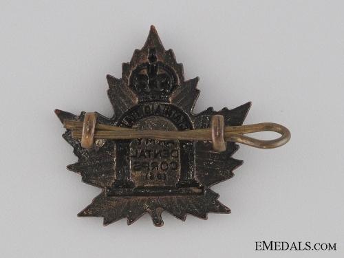WWI Canadian Army Dental Corps Collar Tab