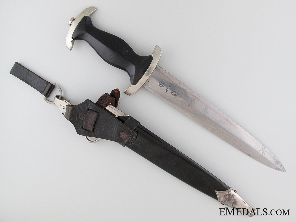 An Early SS Dagger by Paul Seilheimer