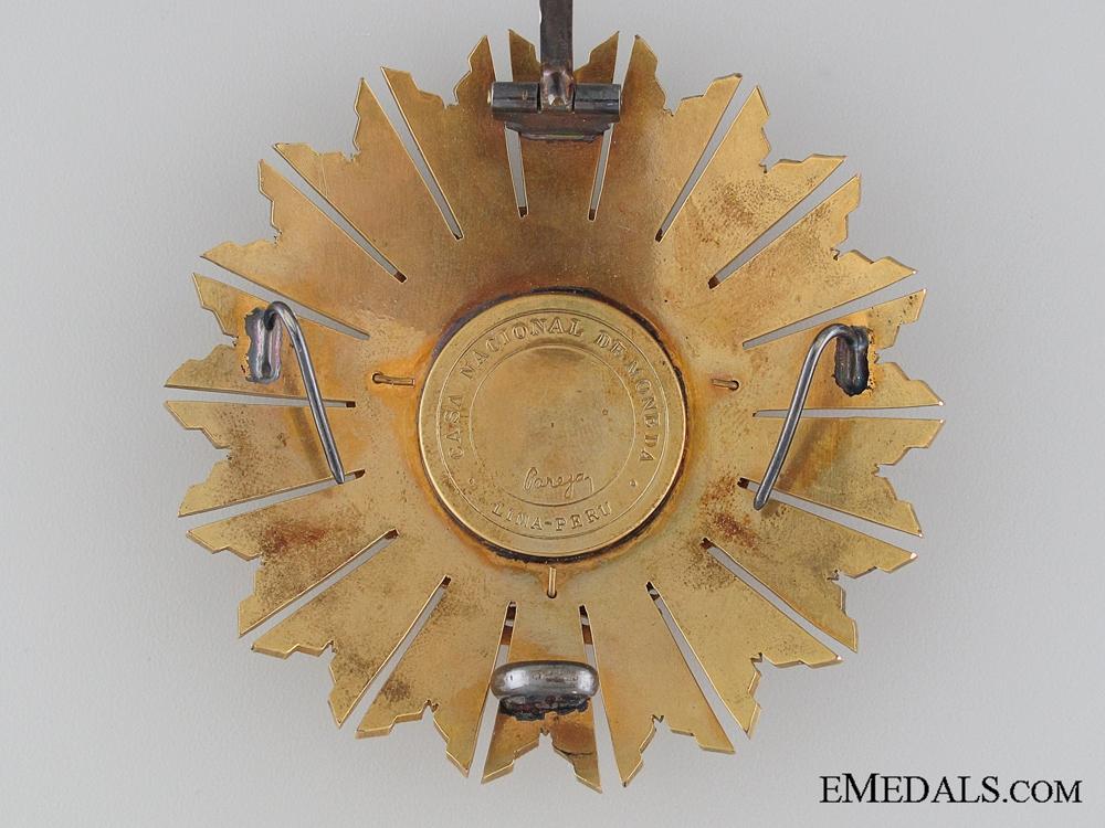 The Peruvian Order of the Sun; Grand Cross