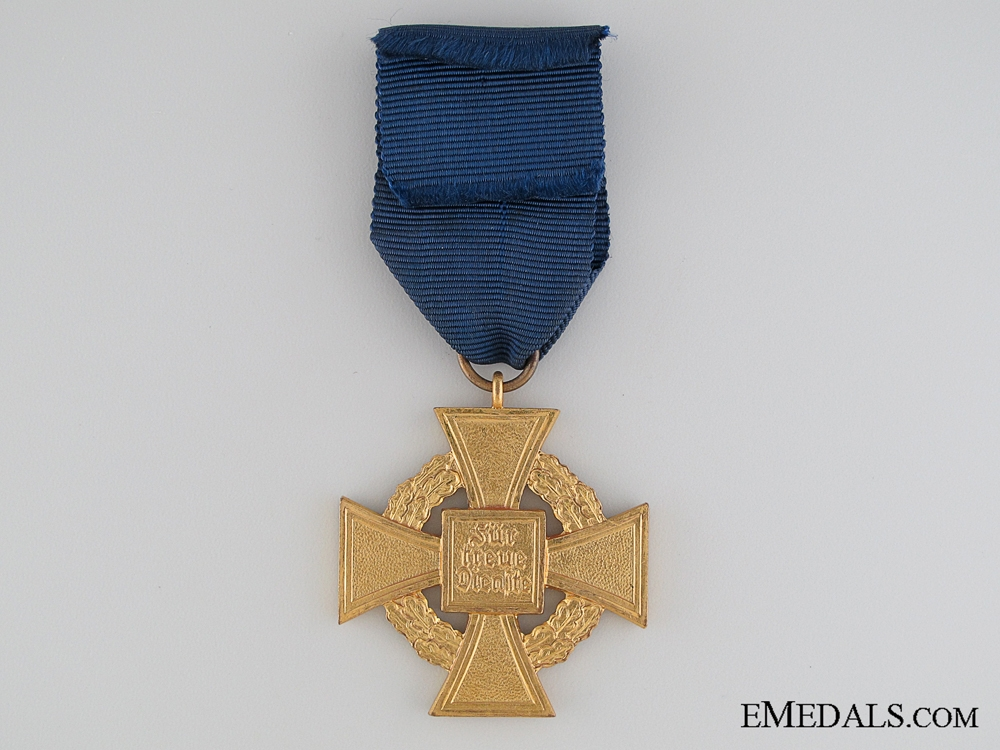 Faithful Service Cross - 2nd Class