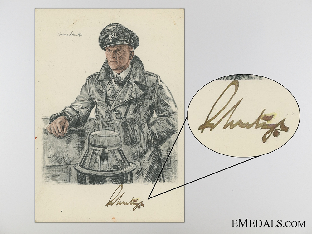The Signature of Admiral Doenitz