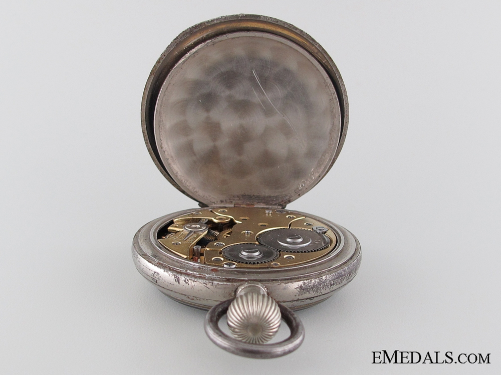 A First War German Pilot's Pocket Watch by F.W. Kreis