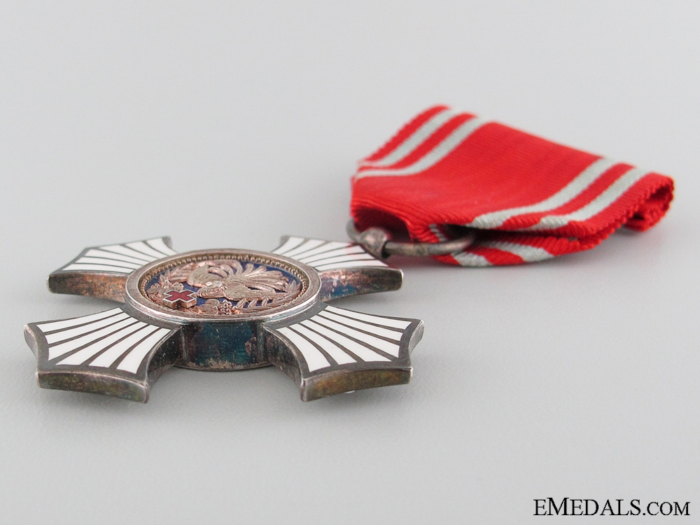 Japanese Red Cross Society Merit Medal; Silver Grade