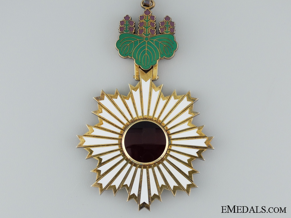 A Japanese Order of the Rising Sun; Third Class; Cased