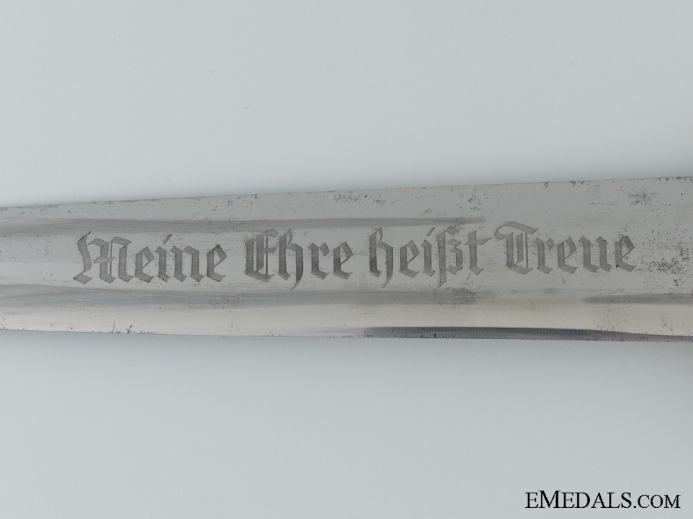 An Early SS Dagger by Ernst Pack & Söhne