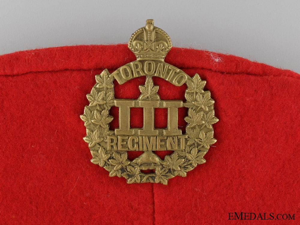 A First War Veterans Group to the 3rd Canadian Infantry Battalion