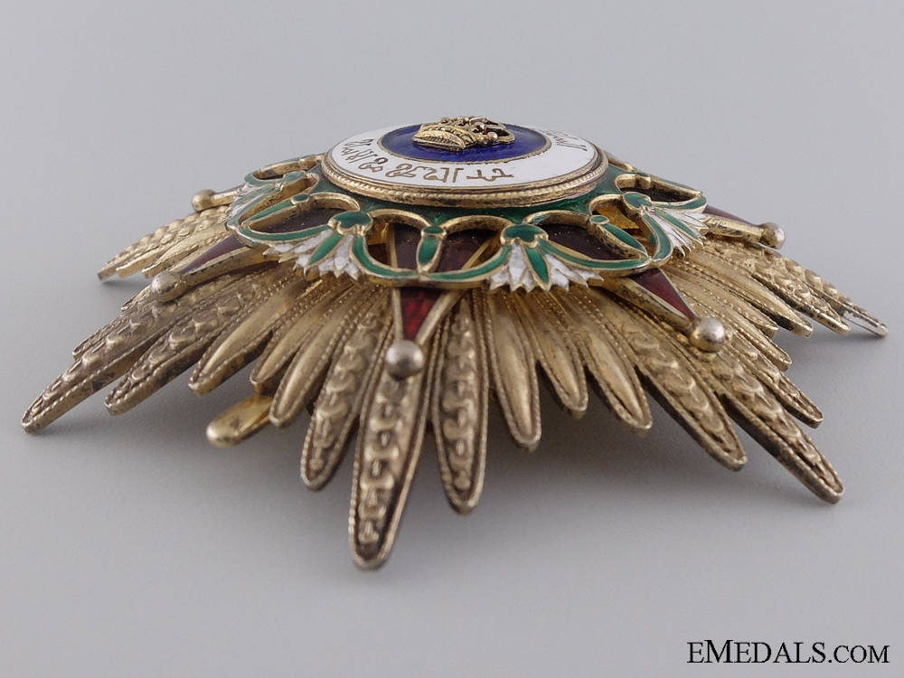 An Iraqi Order of the Two Rivers; Grand Cross Set