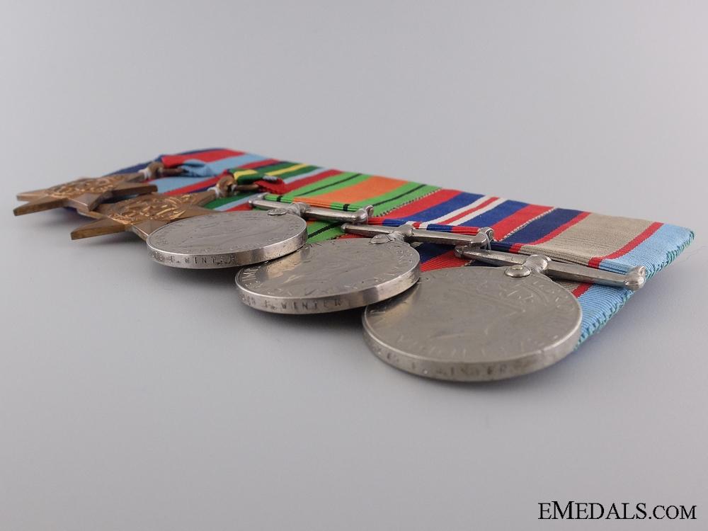 An Australian Father & Son Second War Medal Bar Pair