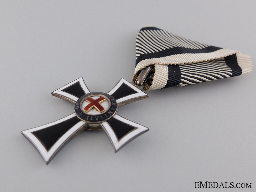 An Austrian Marian Cross of the German Knight Order, Cased