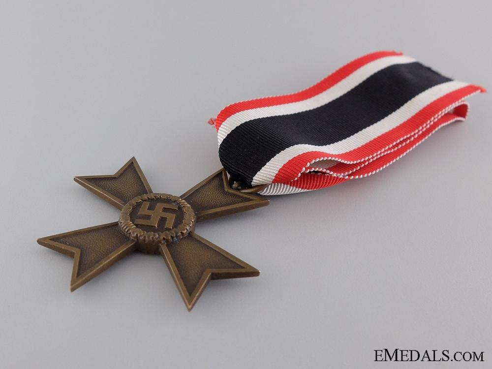 A Second War War Merit Cross; 2nd Class with Cased