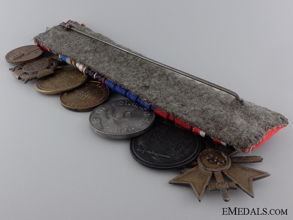 A German & Romanian War Merit Medal Bar