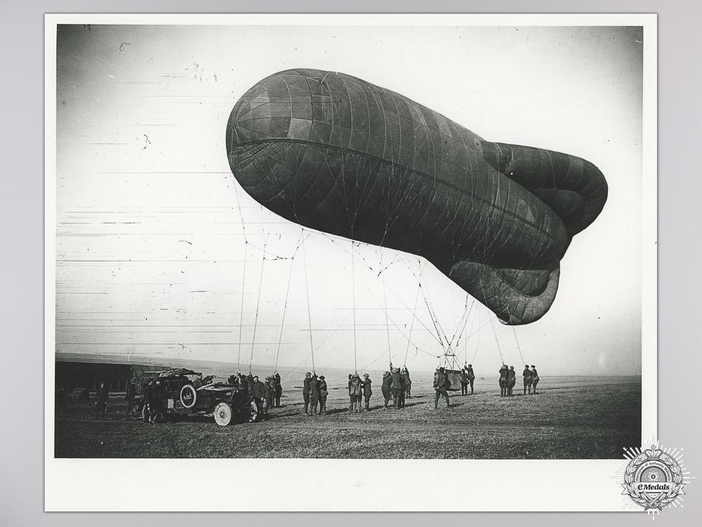 A Rare Great War DFM Balloonatics Group to Percival G. Phillips