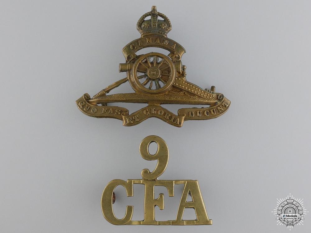 A 1914 First War Canadian Field Artillery Veterans Group