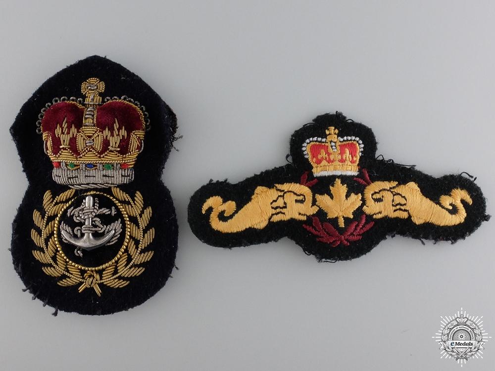 A Royal Canadian Navy Korean War Grouping