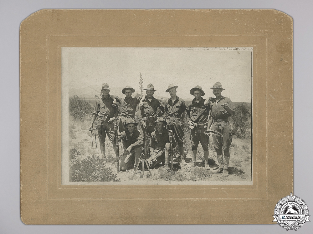 A First War American Siberian Expedition Veteran's Group