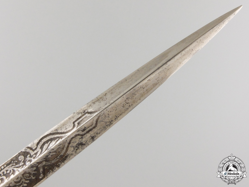 A  Very Rare 1920's Bulgarian Navy Admiral's Dagger by E. & F. Hörster