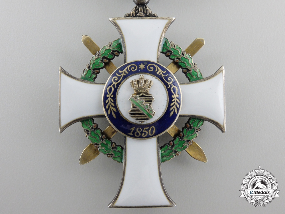 A Saxon Albert Order; 1st Class Knight's Cross with Swords