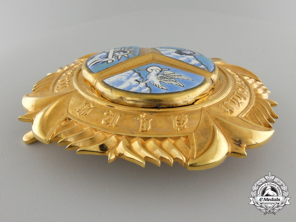 An Ethiopian Order of the Holy Trinity; Grand Cross