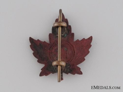 WWI 19th Infantry Battalion Collar Tab CEF