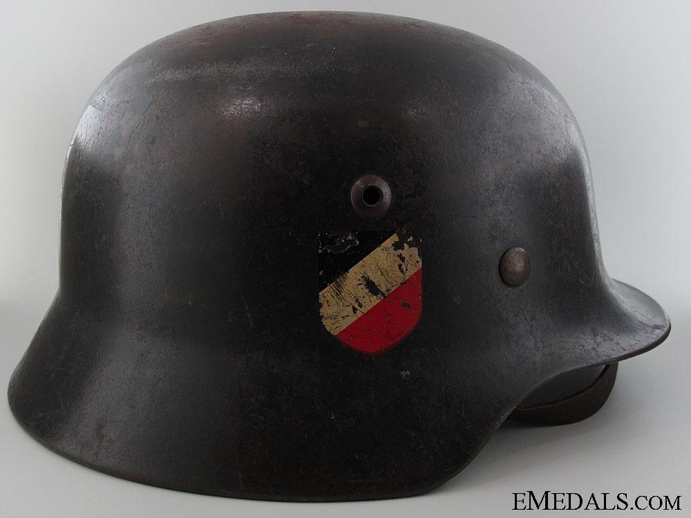 M35 Double Decal Luftwaffe Helmet