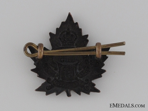 Canada. WWI 115th Infantry Battalion Collar Tab CEF