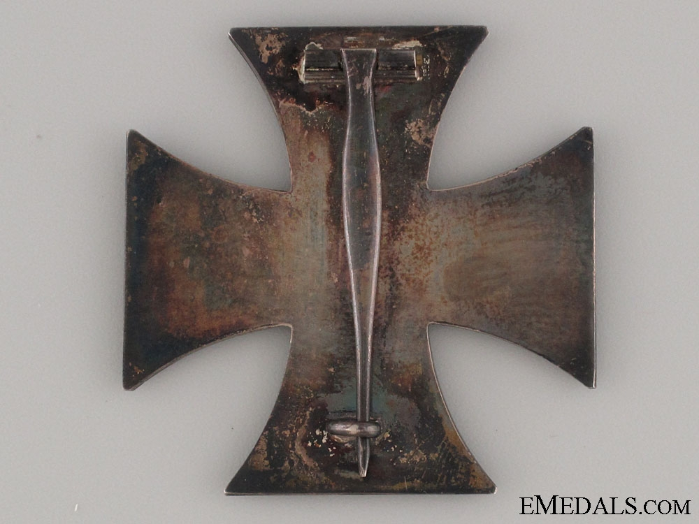 Iron Cross 1st Class 1914 – Marked & Silver