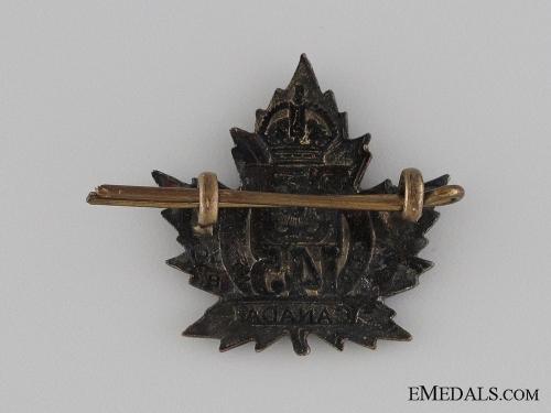 WWI 145th Infantry Battalion Collar Tab CEF