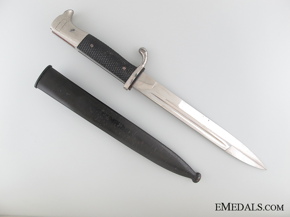Army Etched Short Bayonet by F.W. Holler