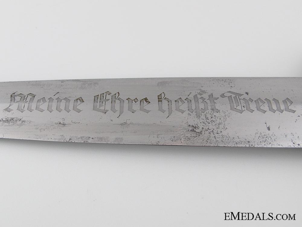 The SS Dagger of Unterscharführer Otto Späth