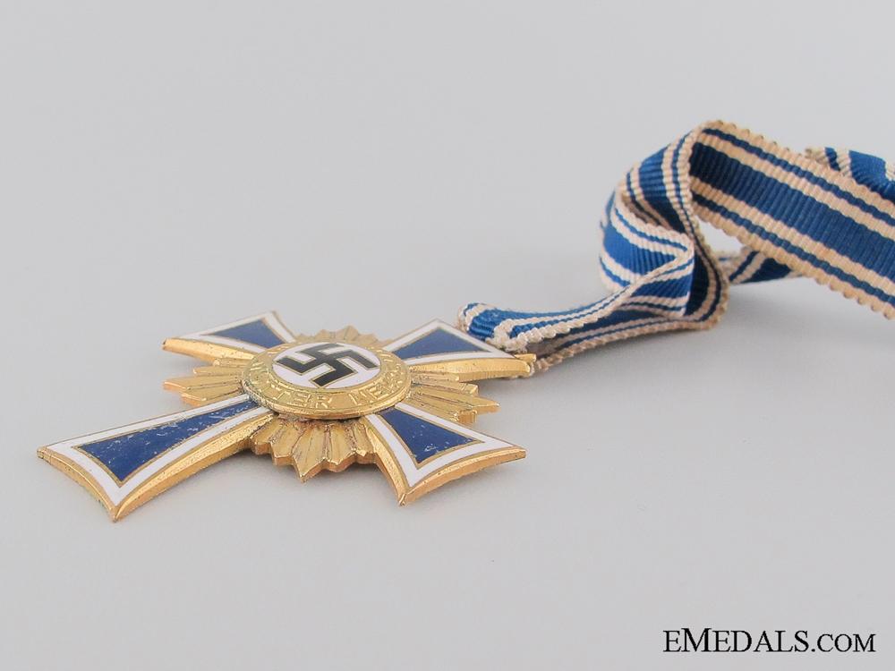 German Mother's Cross; Gold Grade