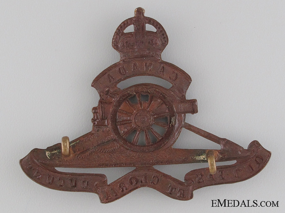 A First World War Pair to the Royal Canadian Artillery