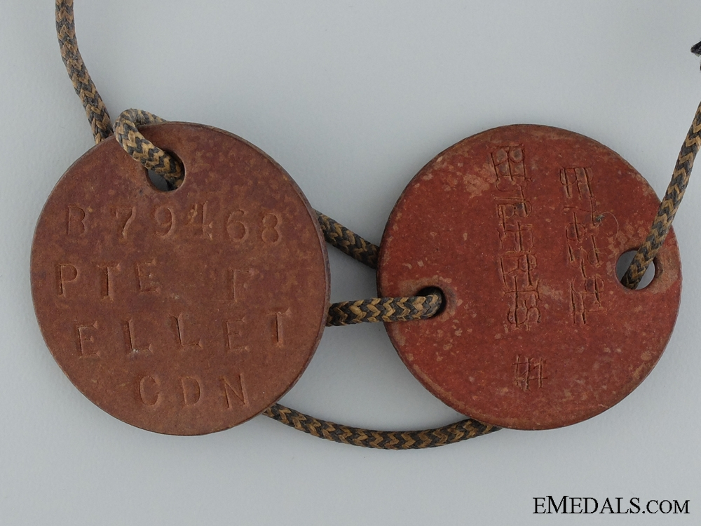 A First War Medal Pair & Photos to the 58th Canadian Infantry