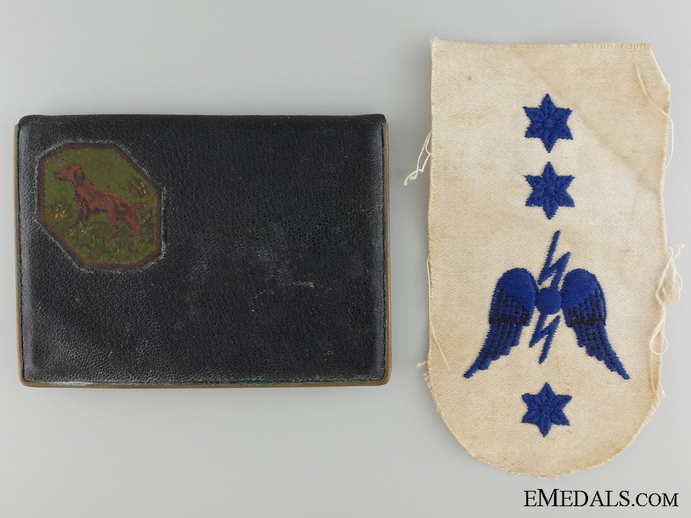 WWII Medal Bar & Documents to Telegraphist Hurd; R.C.V.N.R.