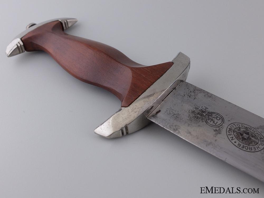 An SA Dagger by Richard Abr. Herder, Solingen 1939