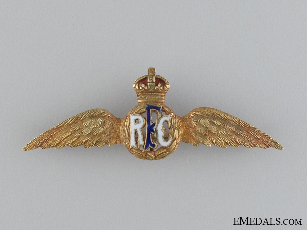 A First War Group to Flight Instructor  Lamont; Royal Flying Corps
