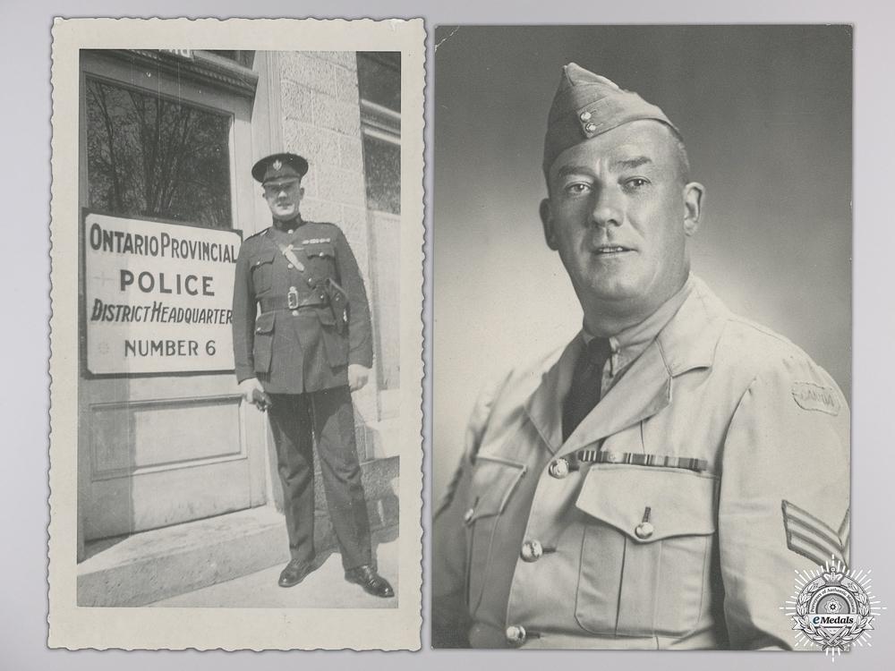 An Extensive First War Military Medal Group to an OPP Officer