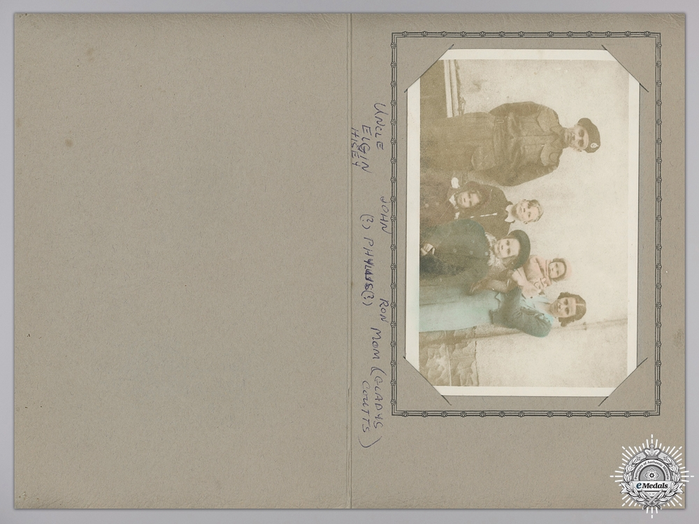 A Second War Ontario Regiment (Tank) Group  Consignment 16