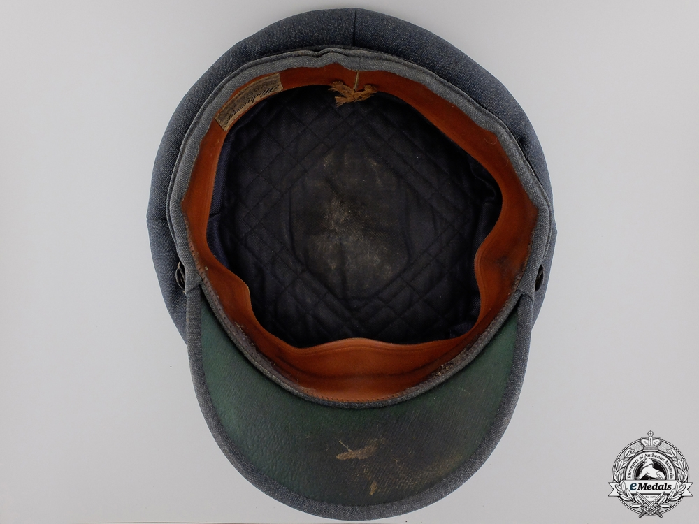 A Royal Canadian Air Force DFC Recipient's Officer's Cap