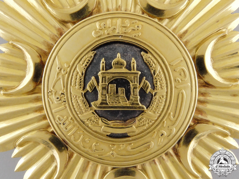 An Order of the Leader (Nishan-i-Sardari), Grand Cross Set; 1st Class