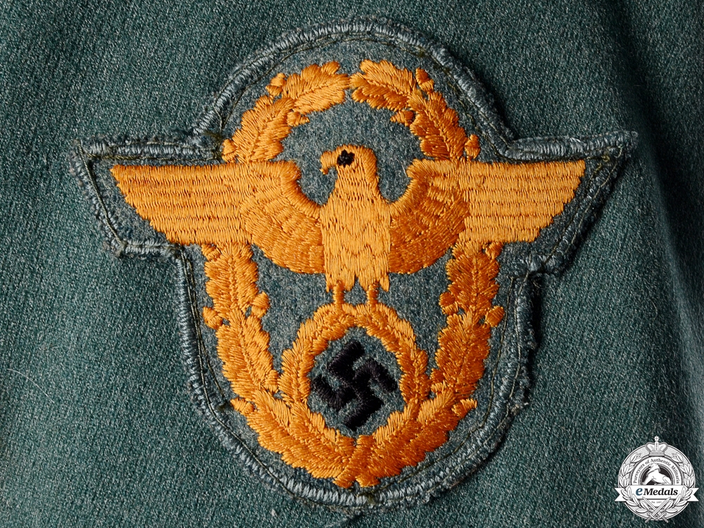 A Rural Police Gendarmerie Senior NCO (Meister) Tunic