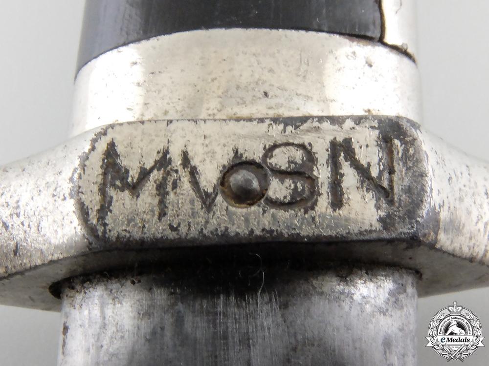 "An Italian MVSN ""Blackshirts"" Model 1925 Dress Dagger"