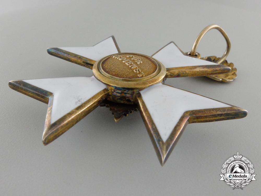 A Waldeck Merit Cross Second Class 1891-1918