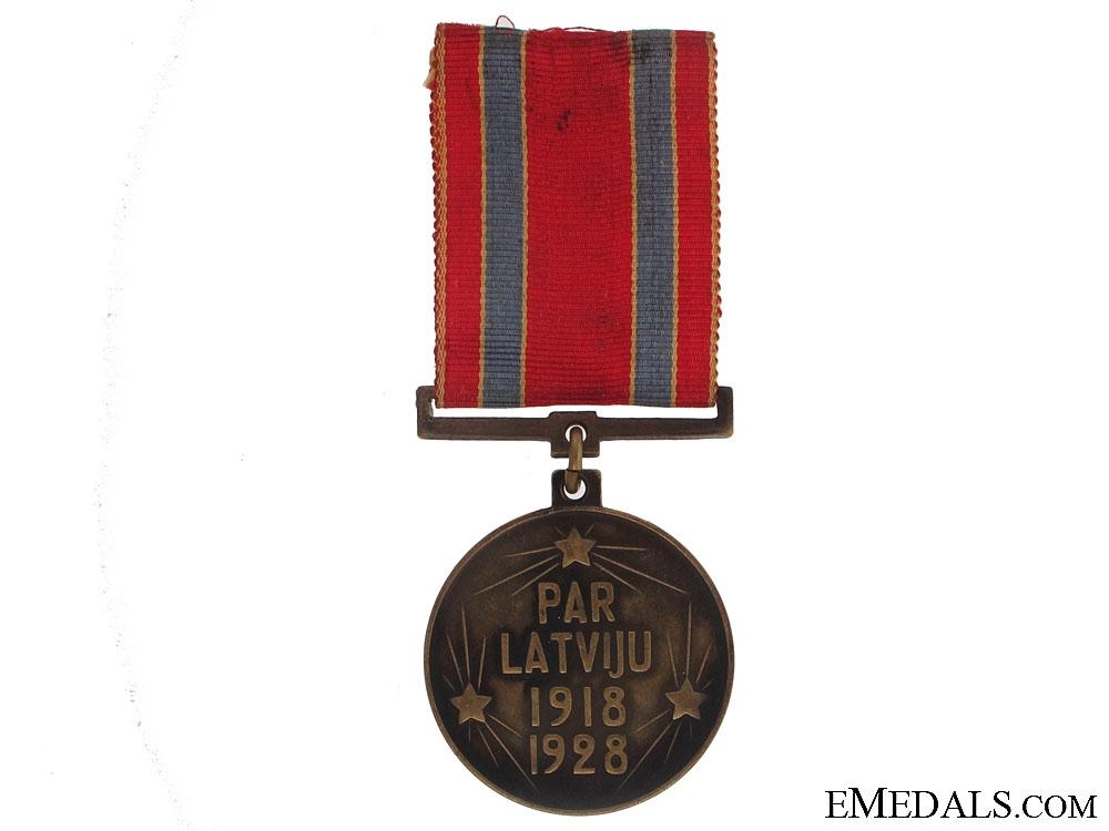 Independence Medal, 1928