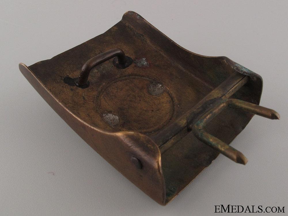 Württemberg Brass Buckle